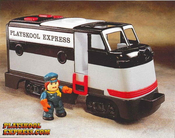 1989 Playskool Express Add-on Locomotive